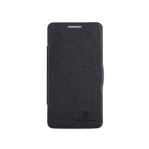 Nillkin Fresh Series PolyCarbonate Flip Stand Leather Case for Lenovo P780 - Black фото