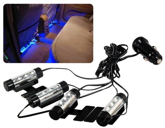 TY-780 Car Interior Blue LED Lights Decorative Atmosphere Lights фото