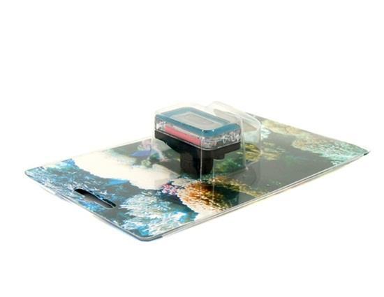 Dijital LCD Akvaryum Termometresi - Mavi