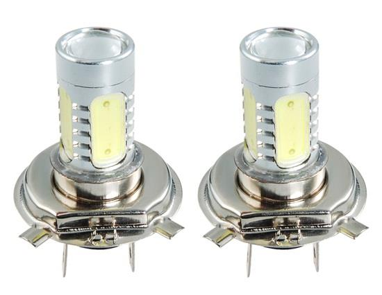 H4 9W Car LED Light 2pc Set