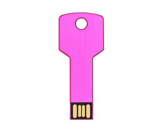 แฟชั่นใหม่คีย์โลหะ USB แฟลชไดรฟ์ 16G USB แฟลชไดรฟ์ - Rose