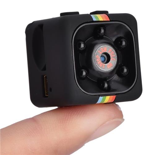 SQ11 HD 1080P Night Vision Camcorder Micro Cameras Car DVR Mini Camera Cam DV Motion Recorder Camcorder -Black