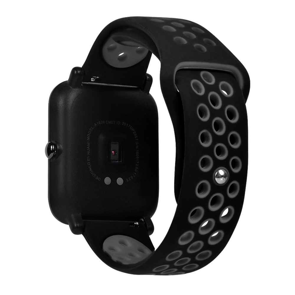 AMAZFIT Bip Replacement Strap Black Gray