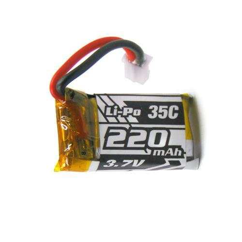 REDPAWZ R011 Micro Racing Quadcopter 3.7V 220mAh 35C Li-Po Battery