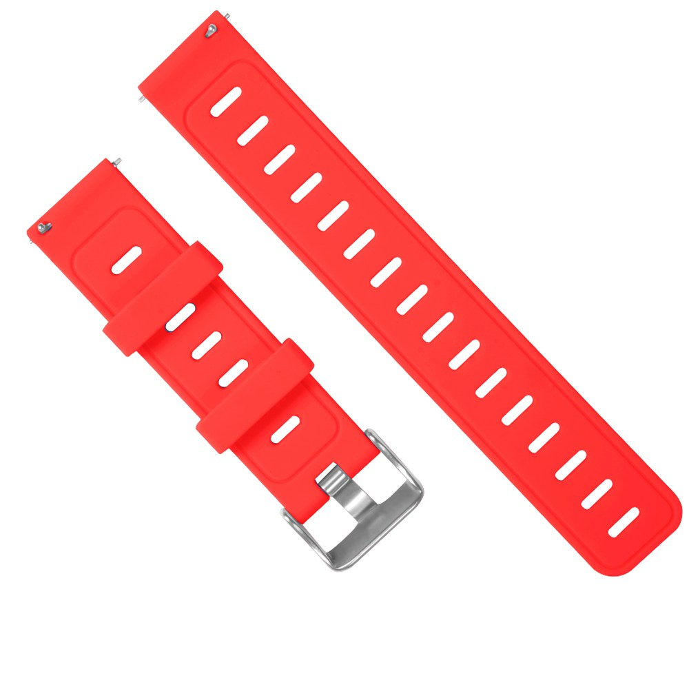 Replacement Strap Silicon Watch Bracelet Band For Xiaomi Huami Amazfit Bip - Red