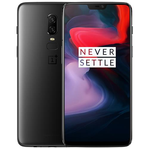 Oneplus 6 6.28 Inch Full Screen 4G Smartphone Snapdragon 845 8GB 256GB 20.0MP+16.0MP Dual Rear Cameras Android 8.1 NFC Dash Charge Type-C - Midnight Black