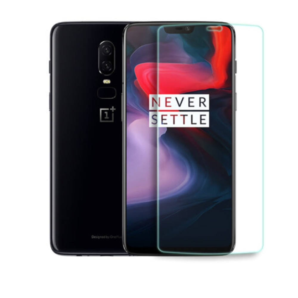 OnePlus 6 Tempered Glass 2.5D Arc Screen 0.3mm Protective Glass Film Screen Protector – Transparent