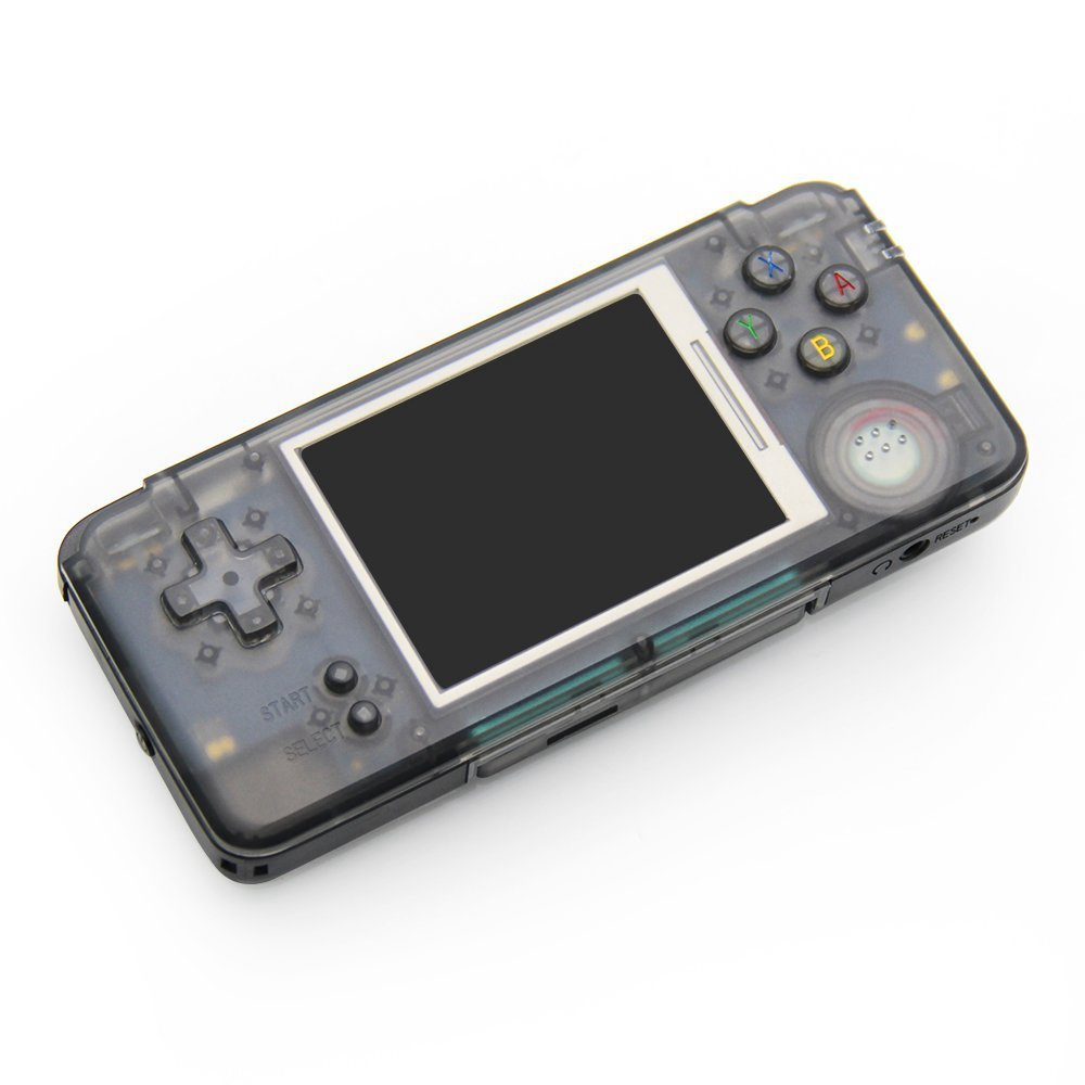 Coolbaby RS-97 Retro Handheld Game Console Built-in Simulator and Thousands Games Support FC GBA MD - Transparent Black фото