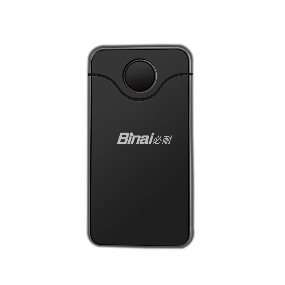 Binai G18 2 Bluetooth vevő és adó 1 adapterben - fekete