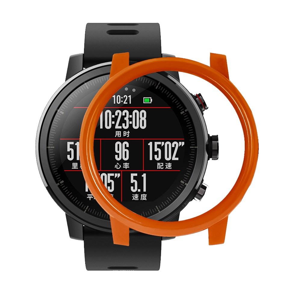 غطاء حماية خلفي لجهاز Xiaomi HUAMI AMAZFIT Stratos ساعة ذكية رياضية 2 / 2s - برتقالي