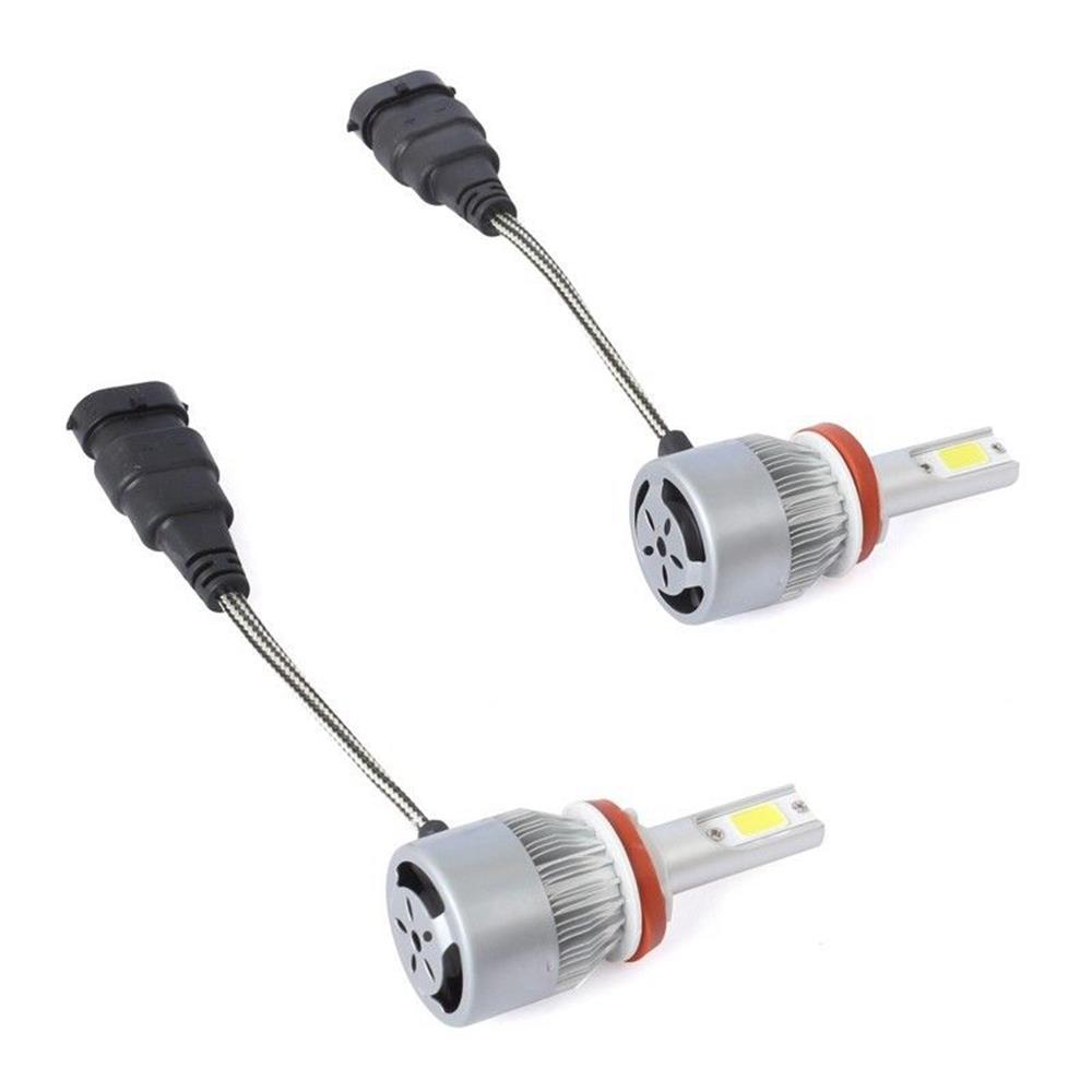 9005 / H10 / HB3 لمبة LED لمبات السيارة 36W 6000K 4000 شمعة التحويل السريع للغاية - فضي