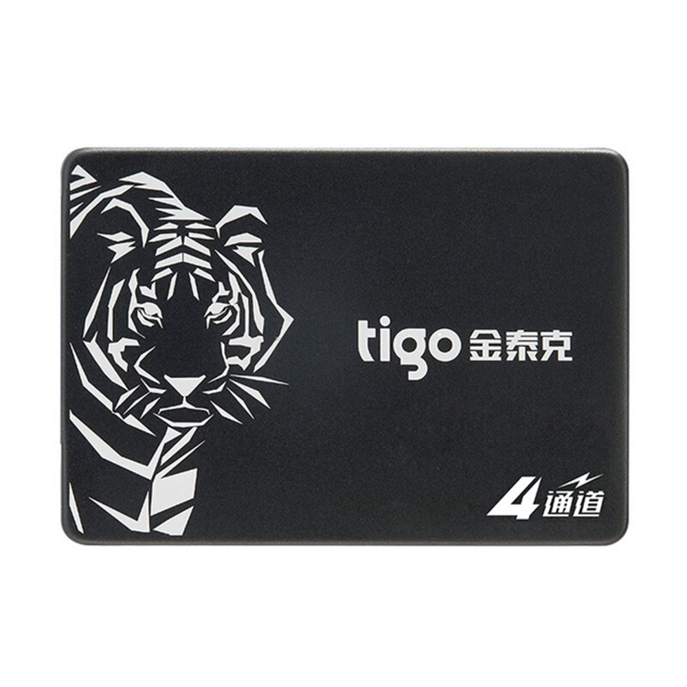 Tigo S300 480GB Solid State Drive 2.5 Inch SSD Hard Disk With SATA3 6Gb/s Support Laptop / PC - Black
