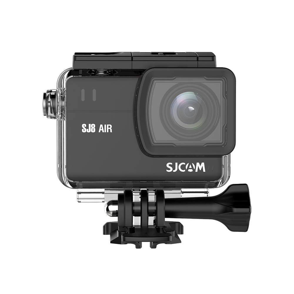 SJCAM SJ8 Air WiFi Action Camera 2.33 Inch 14.24MP Panasonic Sensor 160 Degree Angle Len With Waterproof Case - Black