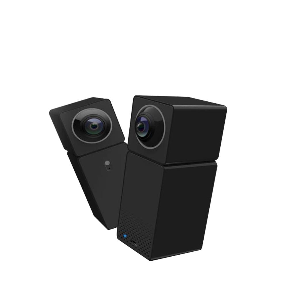 Xiaomi Hualai Xiaofang Smart WiFi cámara IP bidireccional audio visión nocturna Dual CMOS cámara de seguridad - Negro
