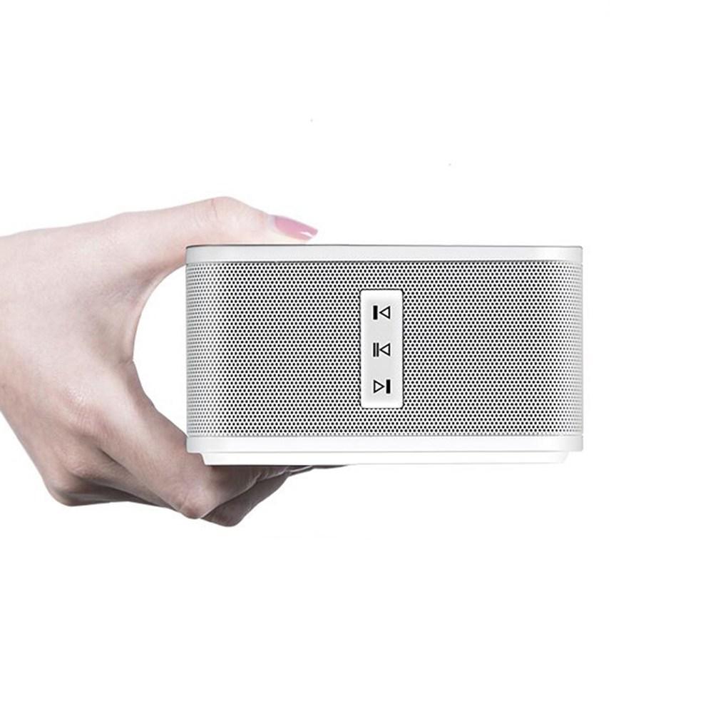 Geekbes Bluetooth Speaker Wireless Connection Максимальное дистанционное управление 10M - серебристый