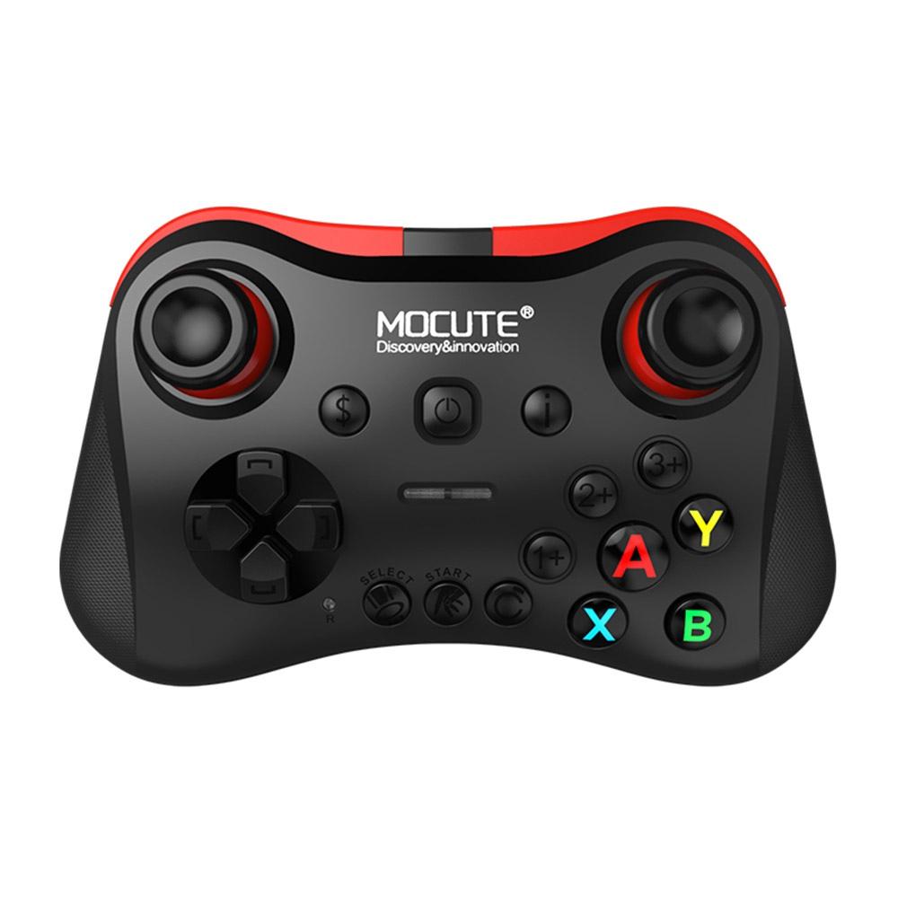 MOCUTE 056モバイルワイヤレスBluetoothゲームコントローラサポートiOS / Android  -  Black