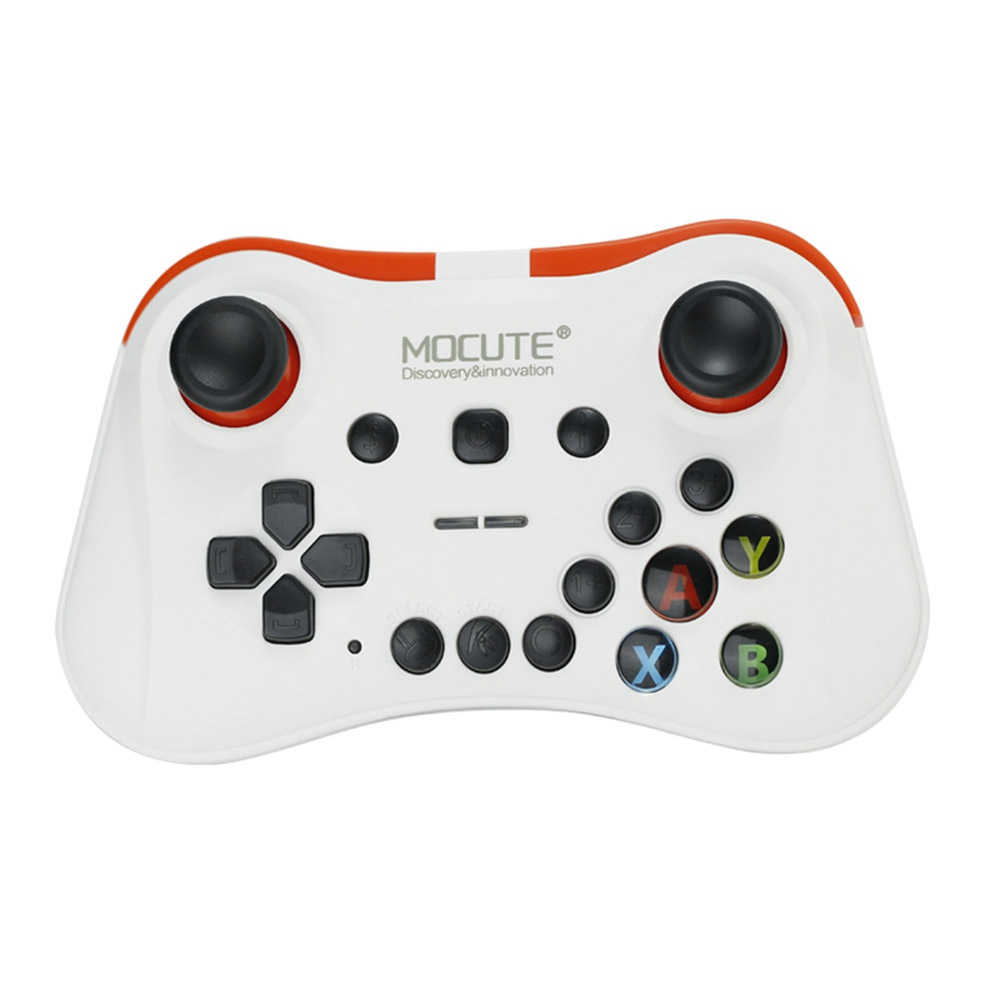MOCUTE 056 Mobile Wireless Bluetooth Game Controller Support iOS/Android - White