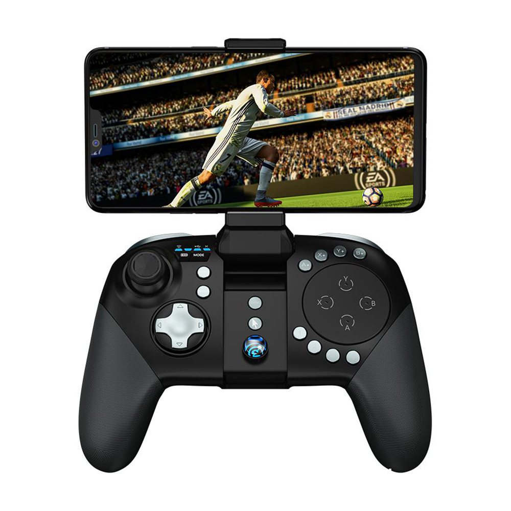 GameSir G5 Bluetooth 5.0 Game Controller Touchpad inalámbrico con soporte para Android iOS - Negro