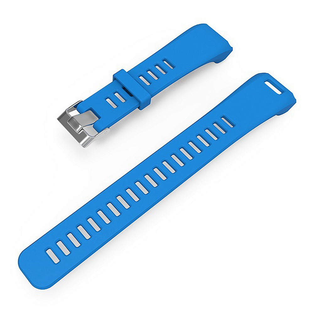 Smart Bracelet Replacement Separated Strap with Screw Driver and Screw PB 2.6 for GARMIN VIVOSMART HR - Blue фото