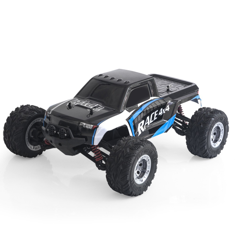 Feiyue FY13 RC Car 1: 12 2.4G 4WD Spazzolato 40km / h High Course Truck RTR - Nero