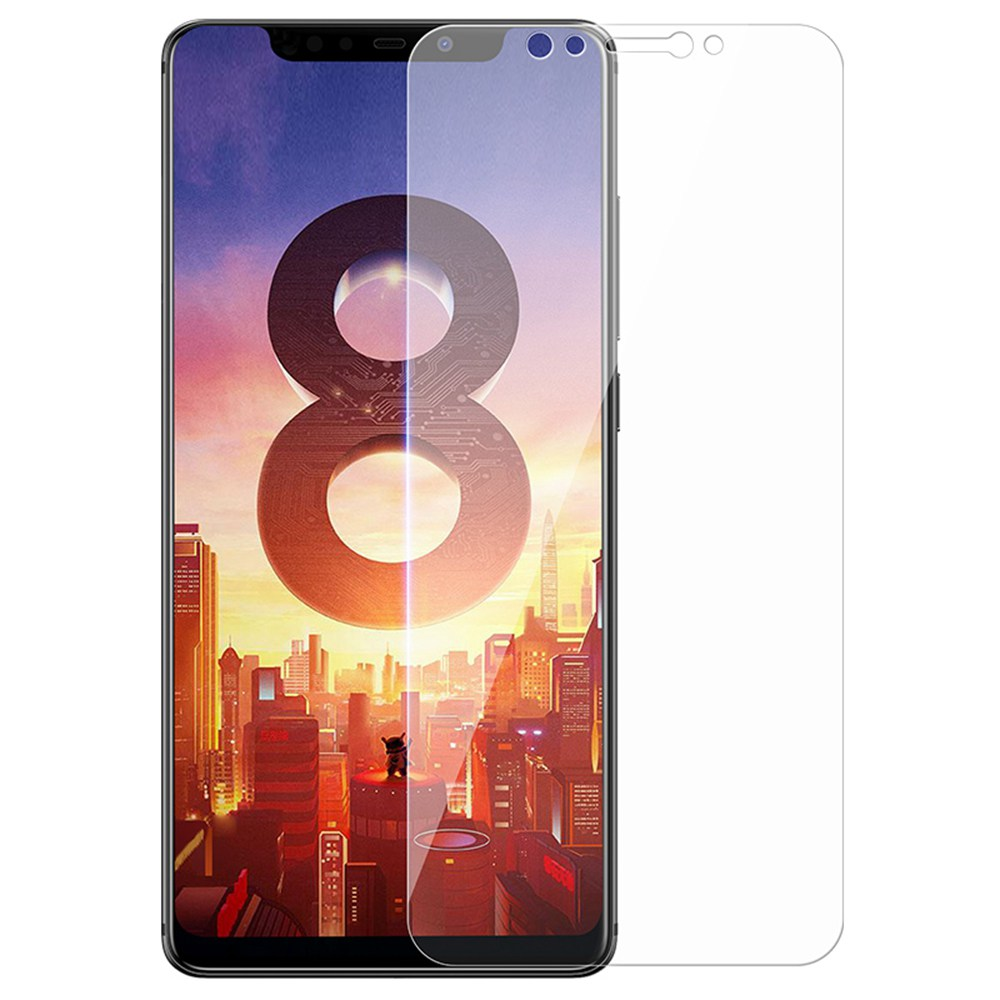 Benks OKR Tempered Glass Film For Xiaomi Mi 8 0.33mm 3D Curved - Transparent