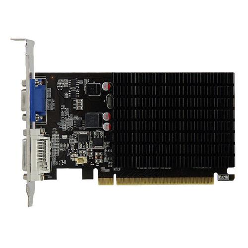 Yeston NVIDIA GeForce GT 710 1GD3 1GB DDR3 64bit Desktop Gaming Scheda grafica per VGA Porta HDMI DVI-D Scheda video computer GDDR3 PC per PCI-E X8 2.0 - Nero