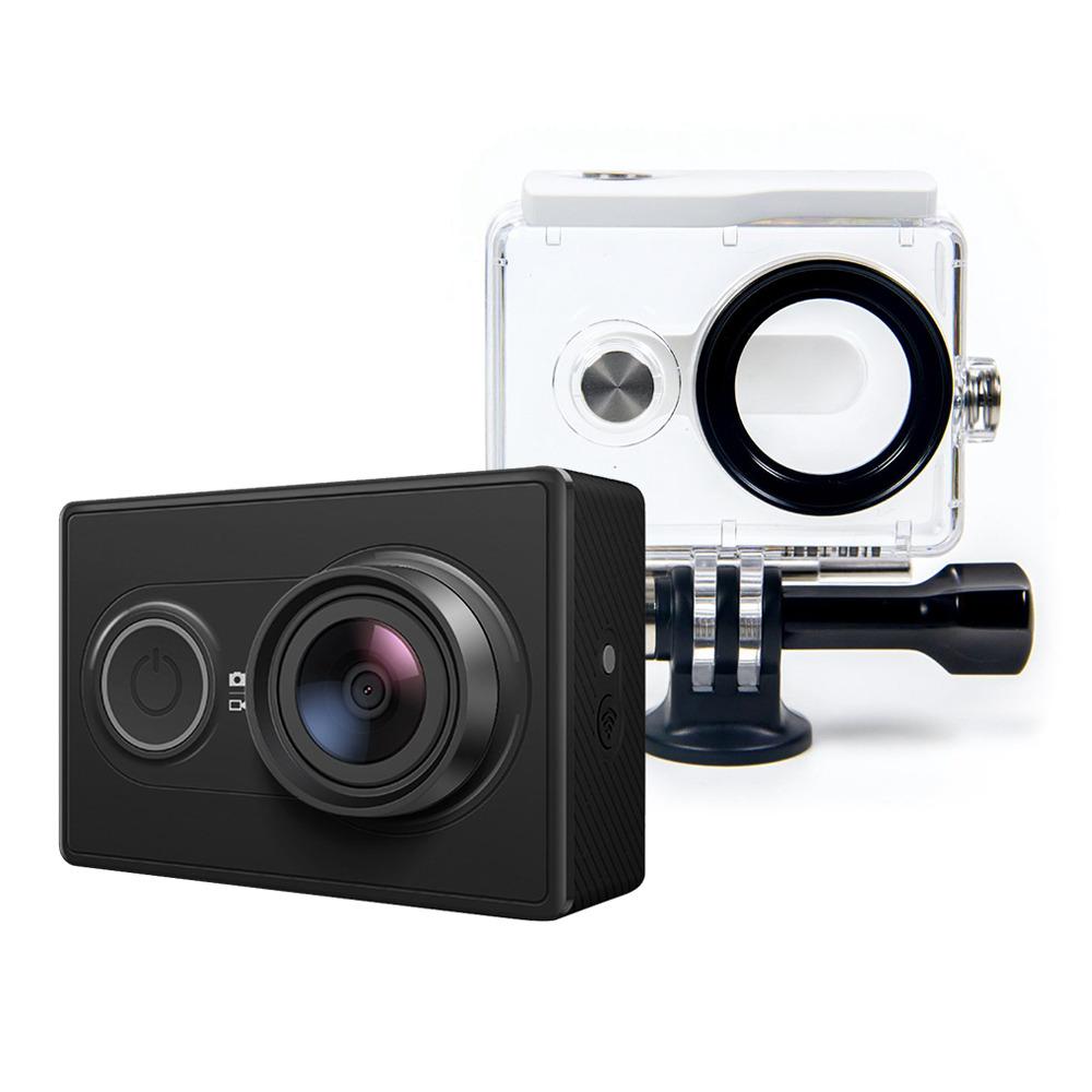 Xiaomi Yi Action Camera With Waterproof Case Set Black