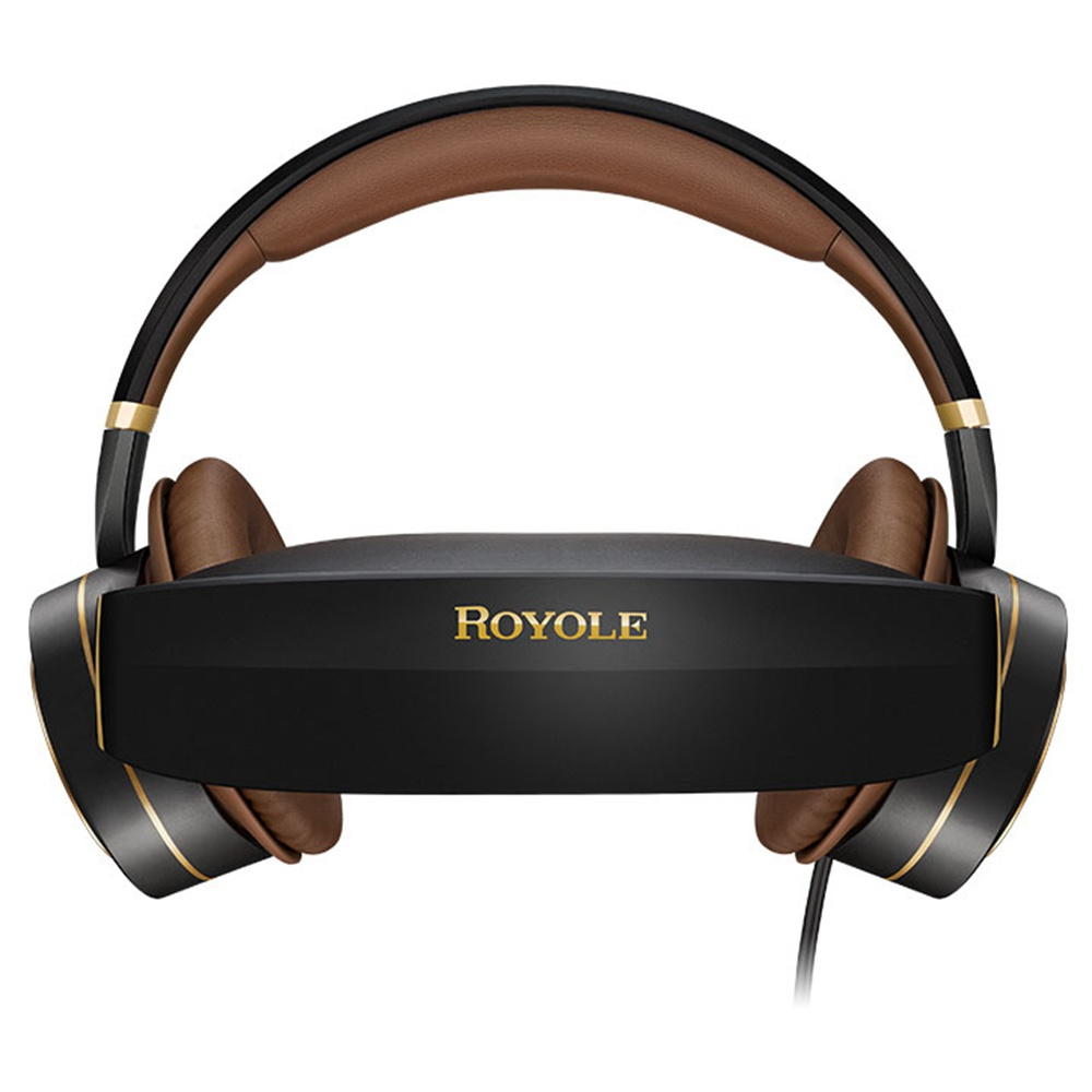 ROYOLE MOON Cuffie HIFI 32 GB all-in-one Occhiali 3D VR Display Moon OS Doppio 1080P Display attivo a cancellazione del rumore Controllo del tocco Wi-Fi Bluetooth HDMI - Nero