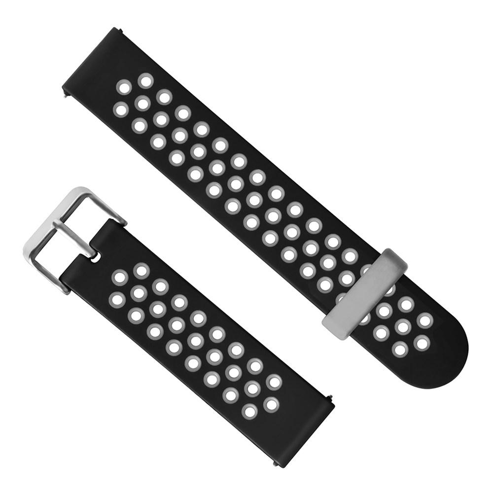 Universal 22mm Remplacement Silicon Montre Bracelet Bracelet Pour Huami Amazfit Stratos 2 / 2S Pace - Gris