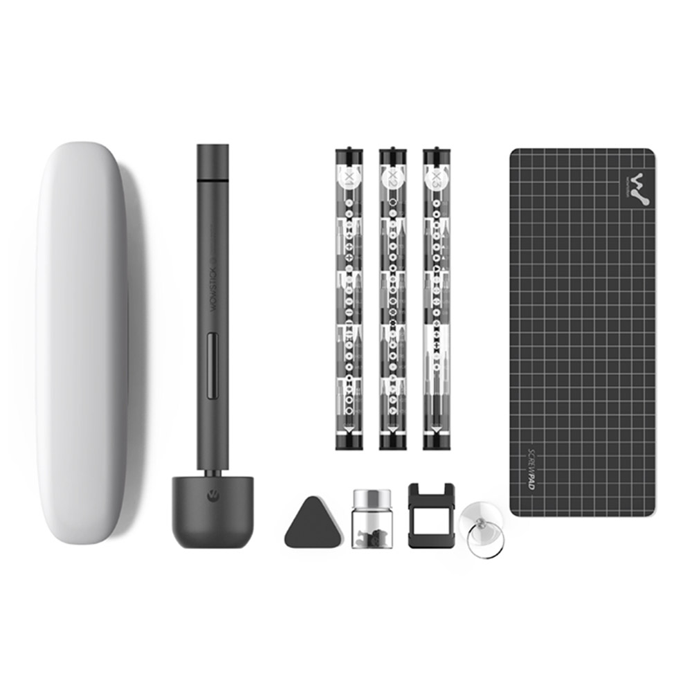 Xiaomi Wowstick 1F Electric Screwdriver Bits Toolkit Gray