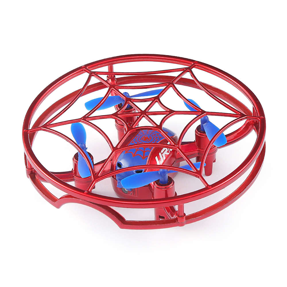 JJRC H64 SPIDERMAN 2.4G Gravity Sensor Control RC Quadcopter with Altitude Hold Mode 360 Degree Flips RTF - Red