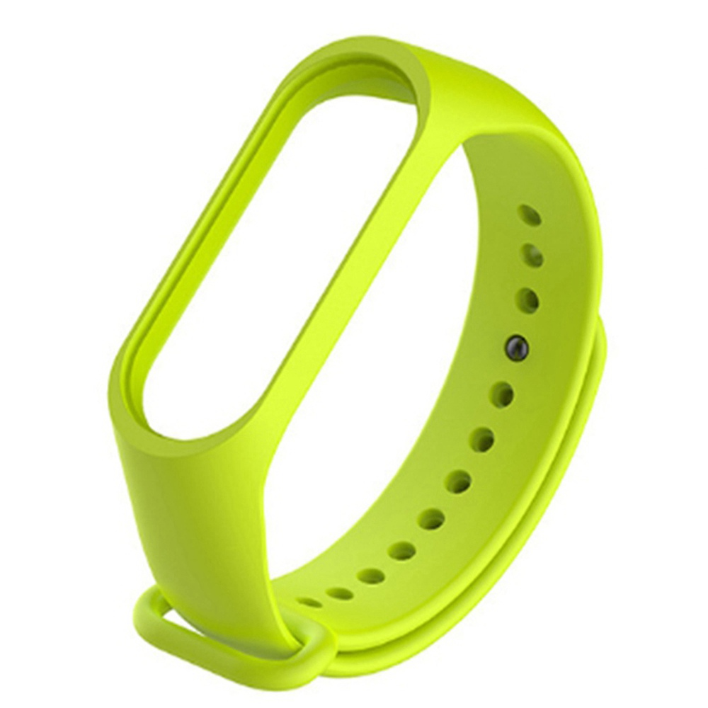 سوار بديل سوار سيليكون لسوار Xiaomi Mi Band 3 - أخضر