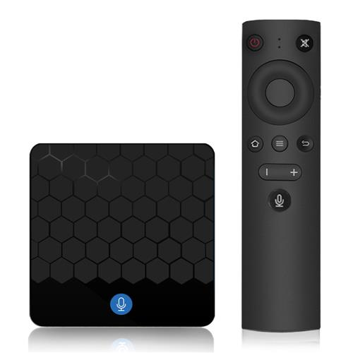 X88 Mini Android TV 7.1 OS 2GB/16GB RK3328 4K TV BOX with Voice Remote Support YouTube 4K KODI 18.0 WiFi LAN USB3.0 VP9 H.265 DLNA Airplay