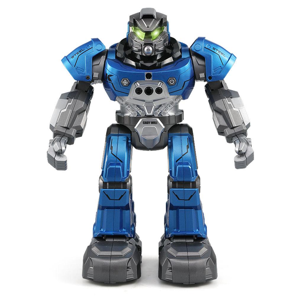 JJRC R5 CADY WILI RC Robot Programmable Dancing Smart Watch Follow Gesture Sensor Kids Toys - Blue
