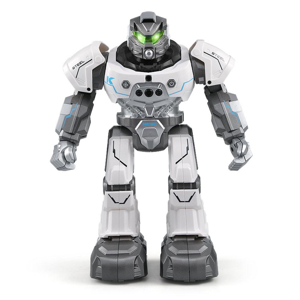 JJRC R5 CADY WILI RC Robot Programmable Dancing Smart Watch Follow Gesture Sensor Kids Toys - White