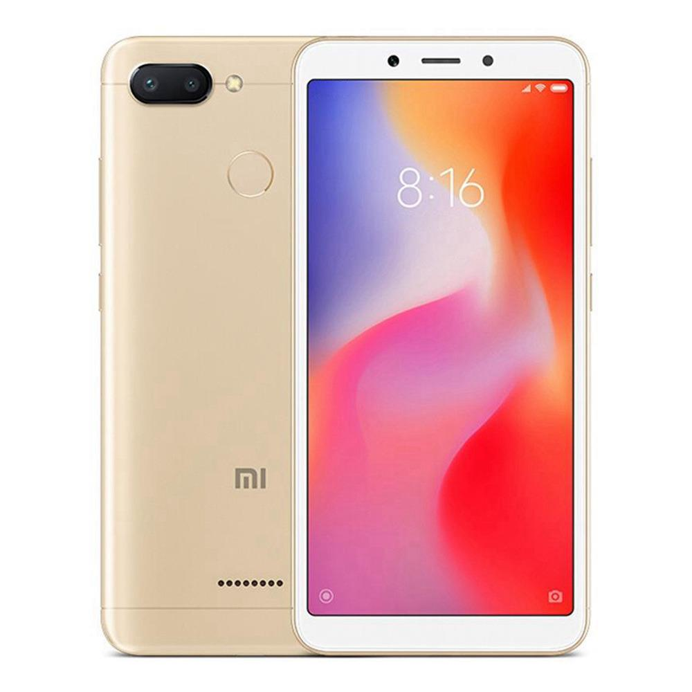 Xiaomi Redmi 6 5.45 Inch 4G LTE Smartphone MTK Helio P22 3GB 32GB 12.0MP+5.0MP Dual Rear Cameras Android 8.1 OS 18:9 Screen AI Face Unlock Global Version - Gold