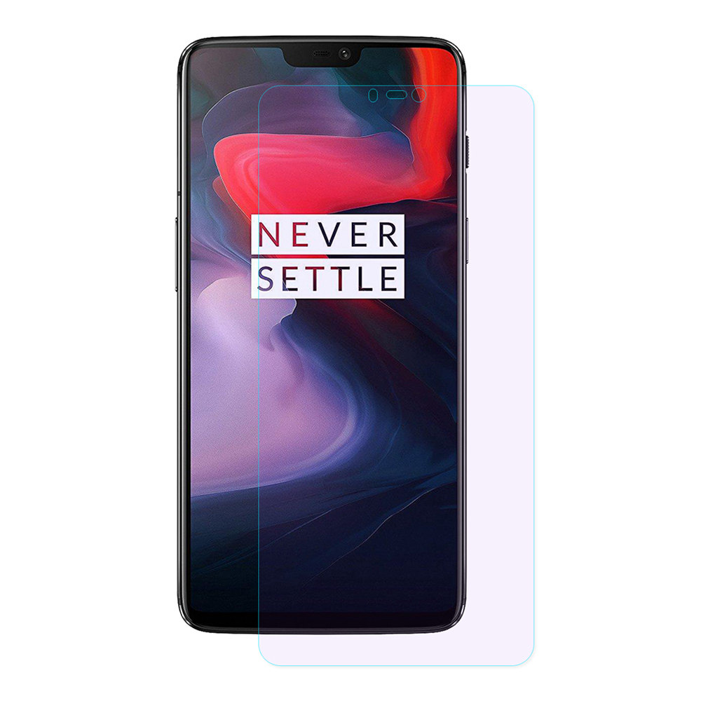 Oneplus 6 Tempered Glass Screen Protector ENKAY Hat-Prince 0.26mm 2.5D Explosion-proof Membrane - Transparent