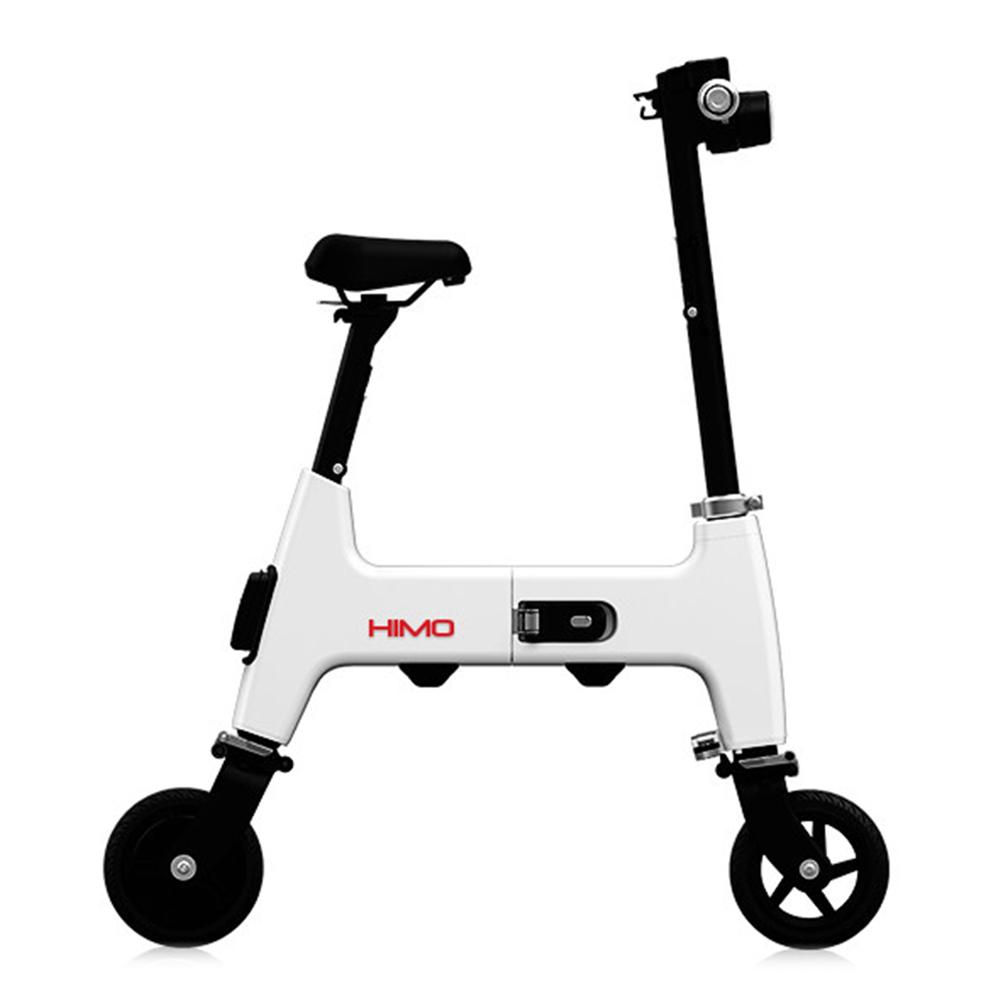 Xiaomi HIMO H1 Φορητό διπλό τροχό ηλεκτρικό ποδήλατο 30KM Endurance A3 Ασφαλές μέγεθος χαρτιού και άνεση - λευκό