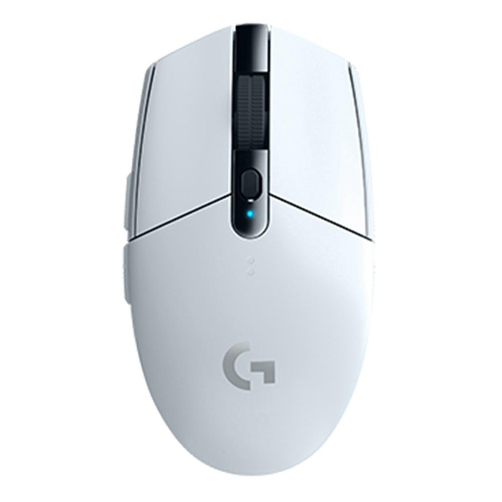 Logitech G304 Lightspeed Souris de jeu sans fil 6 Touches programmables 12000DPI Interface USB Support Système Windows / Mac OS - Blanc