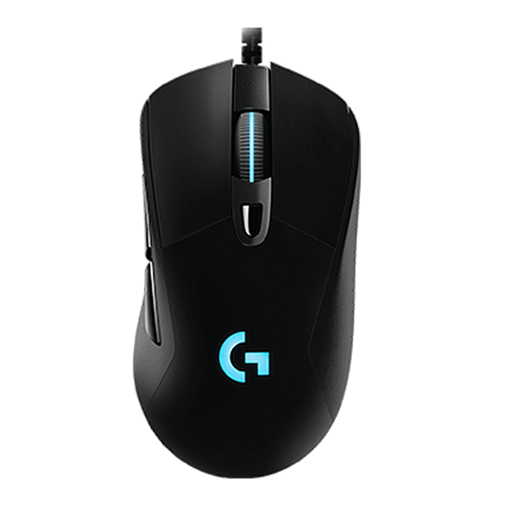Logitech G403 Wired Gaming Mouse 6 Teclas programables 12000 DPI - Negro
