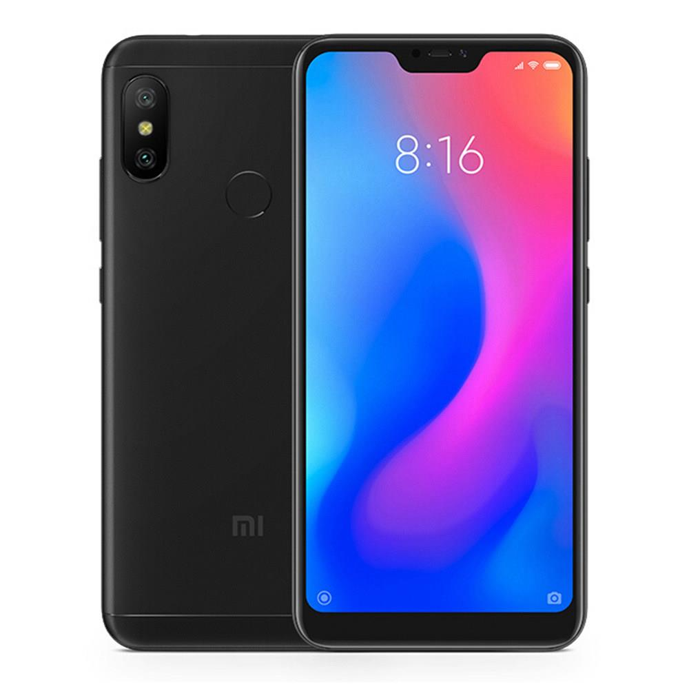 Xiaomi Mi A2 Lite 5.84 Inch Full Screen 4G LTE Smartphone Snapdragon 625 4GB 64GB 12.0MP+5.0MP Dual Rear Cameras Android 8.1 4000mAh Touch ID Global Version - Black