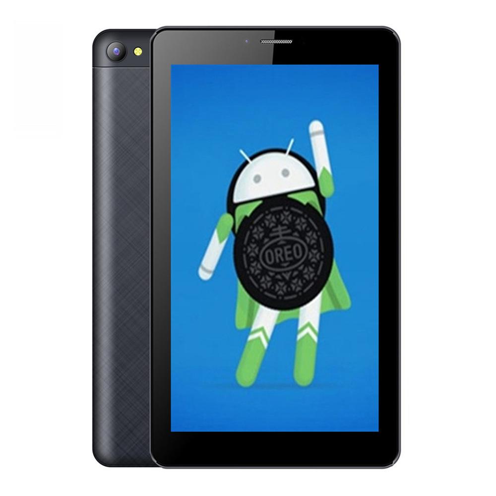 """Binai V7S 3G Phablet MTK8321 Quad Core 7"""" IPS 1024*600 1GB RAM 16GB ROM Android 8.1 Built-in GPS Dual SIM Dual Standby - Black"""