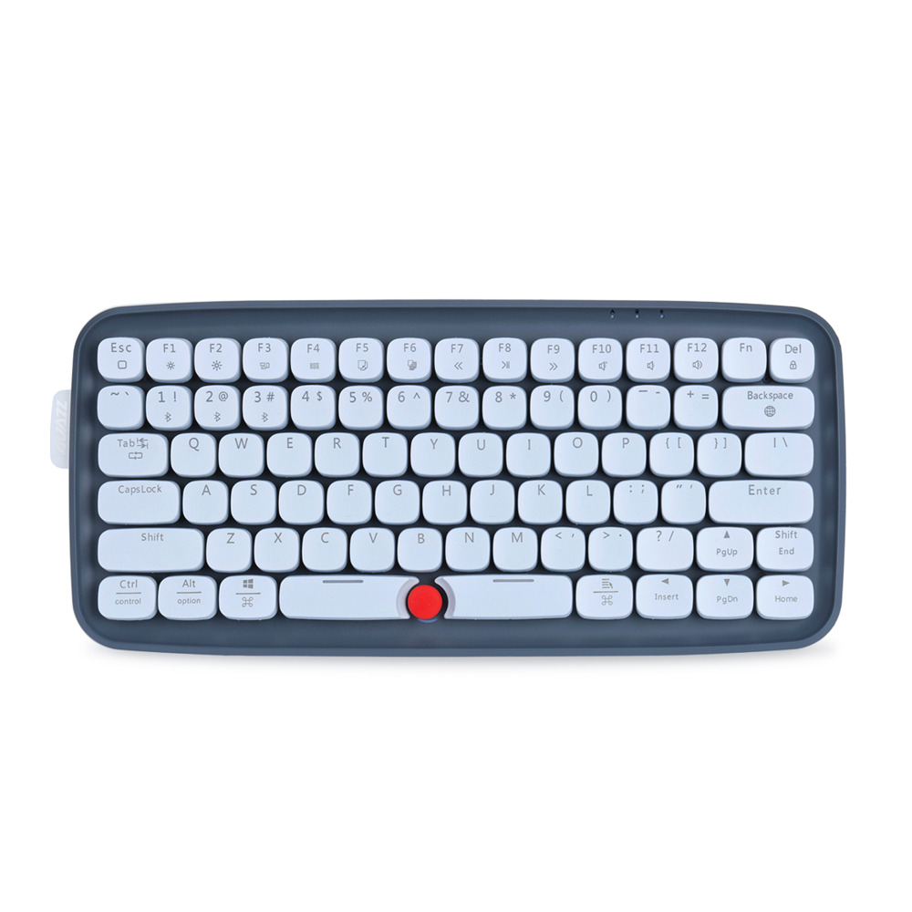 Ajazz ZERO Bluetooth Dual-mode Mechanical Keyboard 79-key RGB Light Keyboard Support Windows / Mac - Grey фото