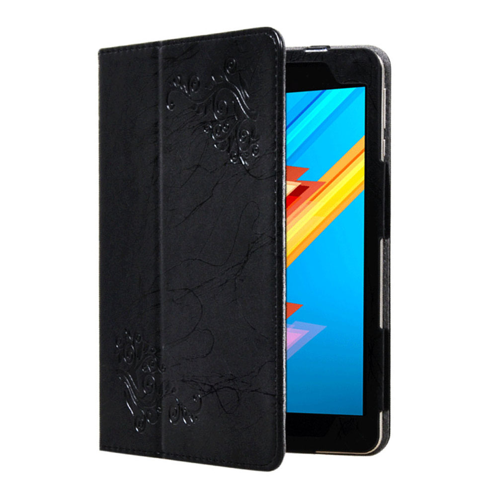 Protective Leather Case with Printing Cover for Teclast M89 Black