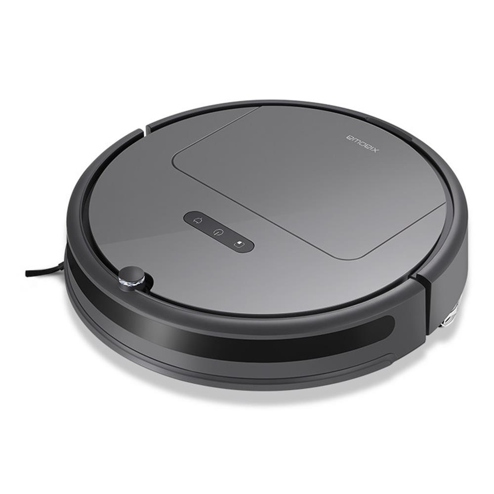 Roborock Xiaowa Plus E35 Robot Vacuum Cleaner 2000Pa Suction 5200mAh Battery 2 In 1 Sweeping & Mopping International Version - Black