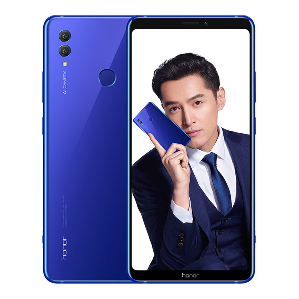 HUAWEI Honor Note 10 6.95 Inch 4G LTE Smartphone Kirin 970 6GB 128GB 24.0MP+16.0MP Dual Rear Cameras Android 8.1 Type-C Fast Charge NFC - Blue