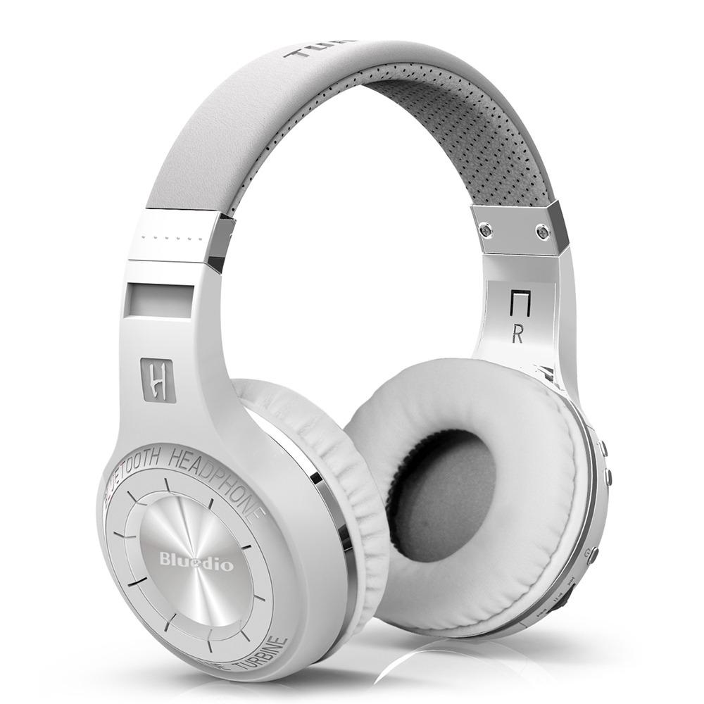 Bluedio Ht Hifi Turbine Wireless Bluetooth Headphones White