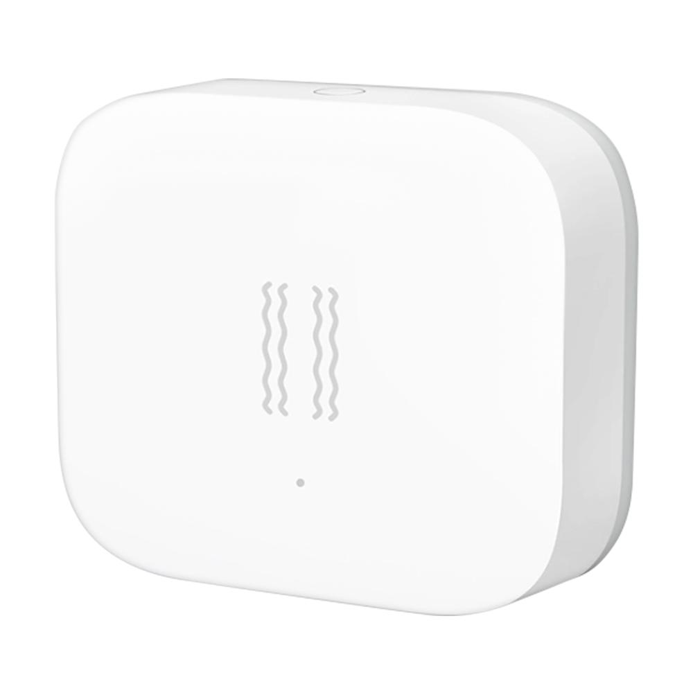 Xiaomi Aqara Detector de vibração Detecção de movimento Linkage Controle remoto Push Sensibilidade ajustável funciona com o Apple Homekit - Branco