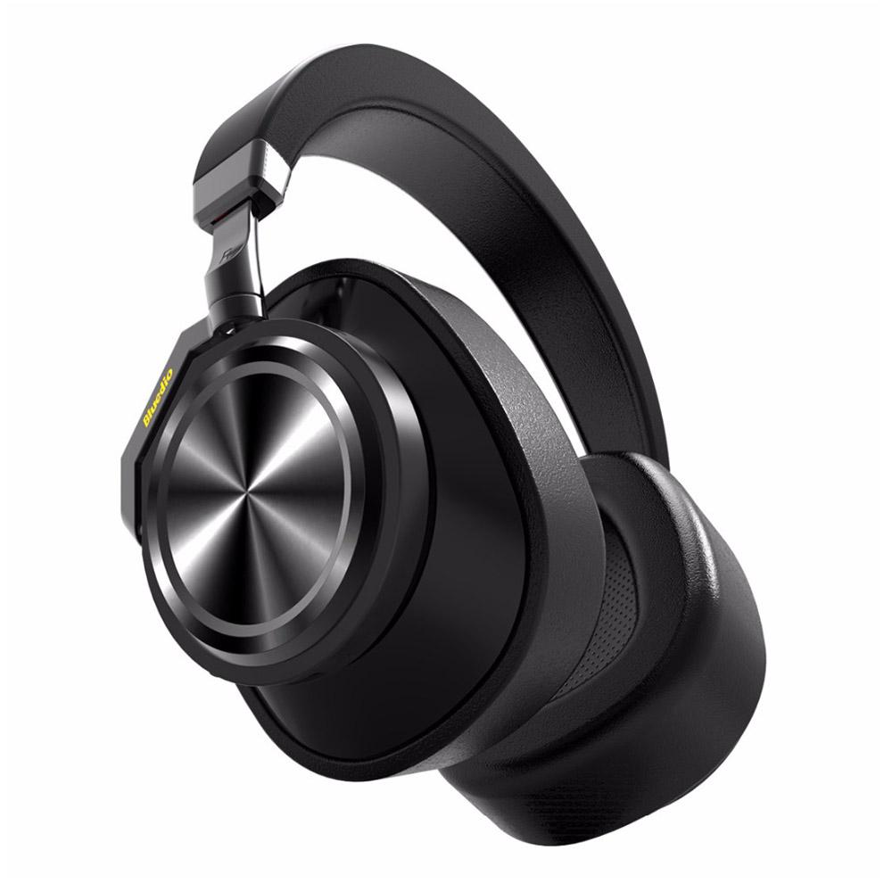 Bluedio T6 Headphones Wireless Bluetooth Headset Black