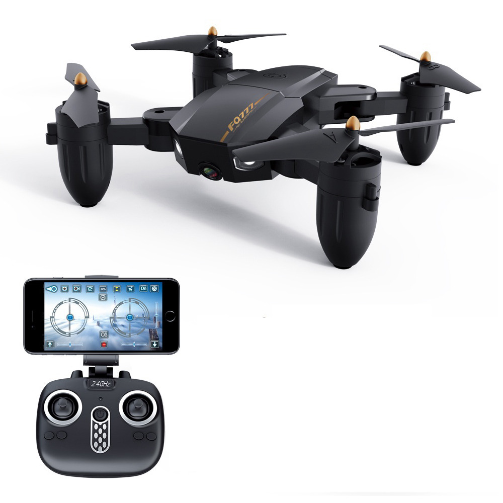 FQ777 FQ36 720P HD WiFi FPV  Foldable RC Drone with Altitude Hold Mode - RTF